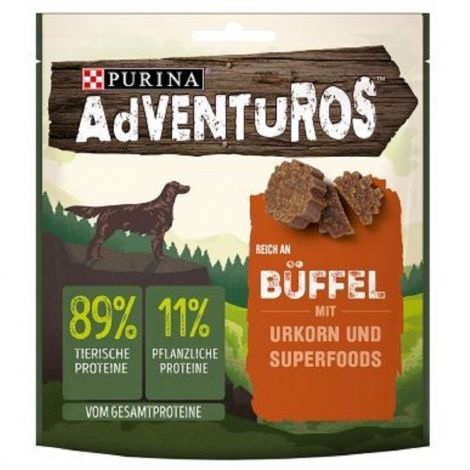 Adventuros bizon s brusinkovou šťávou 90g  94