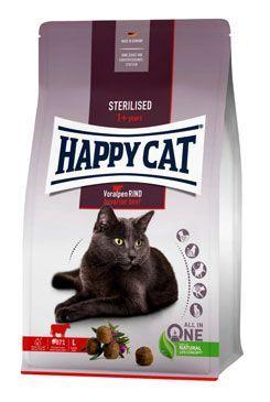 Happy Cat Sterilised Voralpen-Rind/Hovězí 10kg