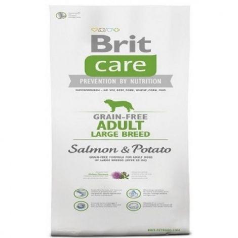 Expirace Brit care  1,0kg Adult Grain-free  LB Salmon+Potato