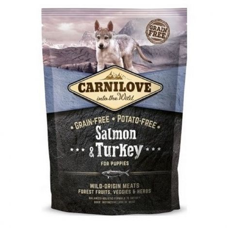 Carnilove 1,5kg Puppy Salmon+Turkey