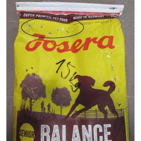Poškozený Josera 15kg Balance Senior