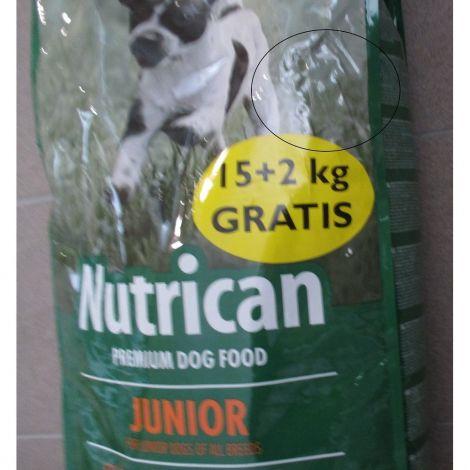 Poškozený Nutrican 15+2kg Junior