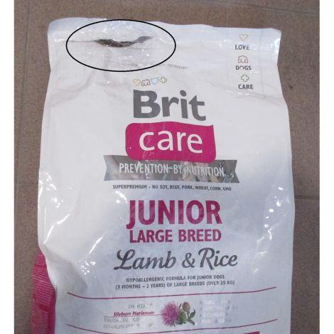 Poškozené Brit care 12kg Junior LB L+R