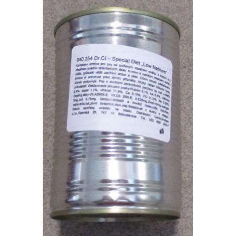 Poškozená Dr.Cl. 400g Spec.Diet Low Natrium