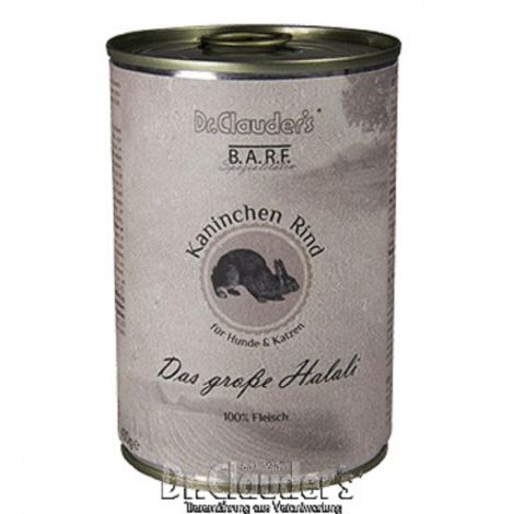 Dr.Cl.BARF 400g Das grosse Halali dog+cat