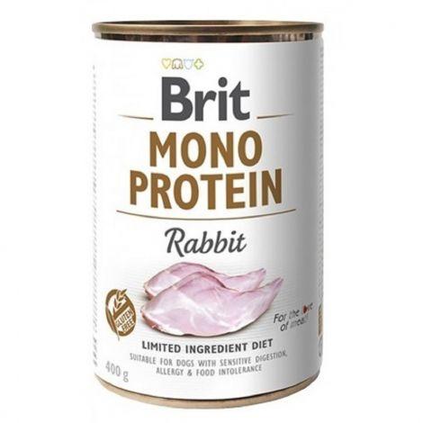 Expirace Brit Mono Protein 400g Rabbit/6ks
