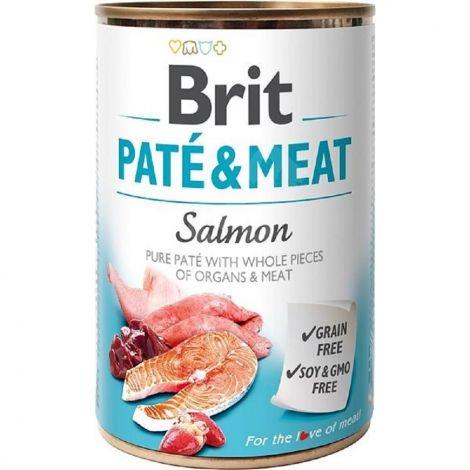 Brit Paté Meat 800g Salmon  94