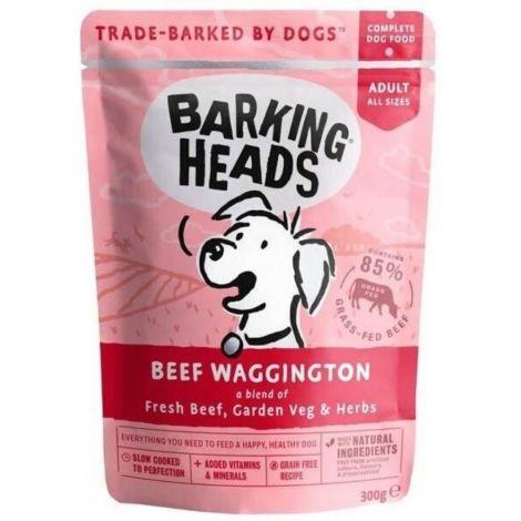 Barking Heads Beef Waggington 300g kaps.