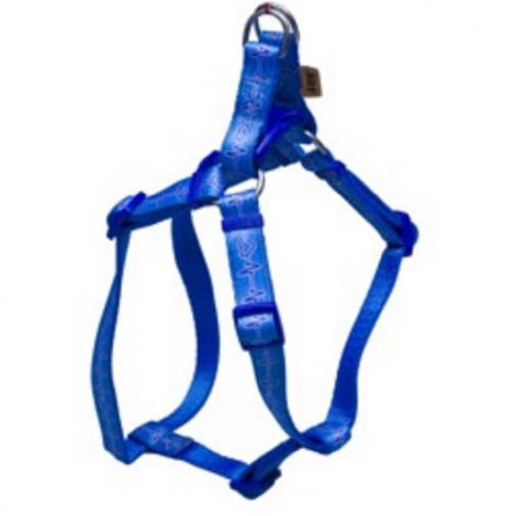Postroj popruh 1,5cm EKG č.2- modré