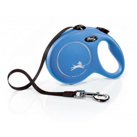 Flexi New Classic L 5 m do  50 kg modrá/pásek