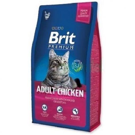 Expirace Brit premium 1,5kg cat Adult kuře