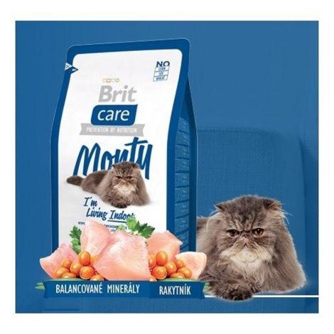 Expirace Brit care 2,0kg cat Monty Living Indoor