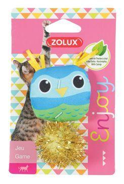 Hračka kočka LOVELY s šantou ptáček Zolux
