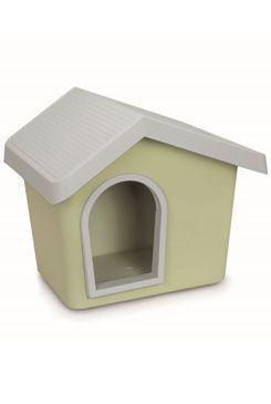 Bouda pro psa plastová zelená 53x46x47,6cm IMAC