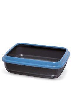WC kočka z recyklovaného plastu černá 50x40x14,5cm