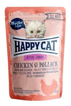 Happy Cat kapsa All Meat Junior Huhn&Seelachs 85g