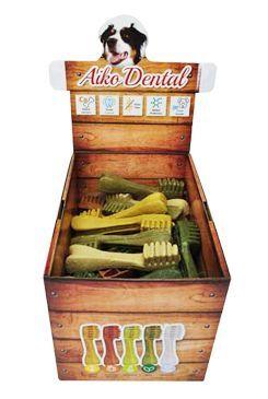 Dental brush L 11,5cm/40 ks box