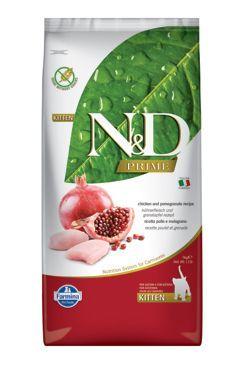 N&D PRIME CAT KITTEN Chicken & Pomegranate 10kg