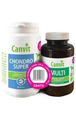 Canvit Chondro Super 230g+Canvit Multi pro psy 100g