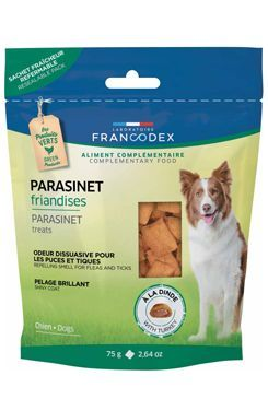 Francodex Pochoutka Parasinet pes 75g