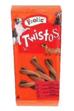 Frolic pochoutka Twistos 6ks s hovězím