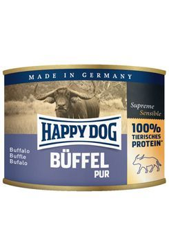 Happy Dog konzerva Buffel Pur buvolí 200g