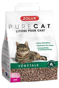 Podestýlka PURECAT natural absorb. rostlinná 8l Zolux