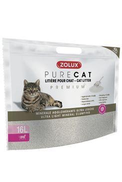 Podestýlka PURECAT premium ultra-light clump 16l Zolux