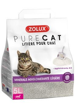 Podestýlka PURECAT premium light clumping 5l Zolux