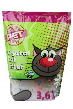 Podestýlka Happy Cool Pet Silica s vůní 3,6l