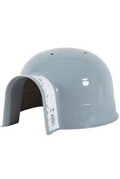 Domek pro hlodavce IGLOO plast velký šedý Zolux