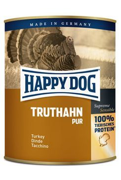 Happy Dog konzerva Truthahn Pur krůtí 800g