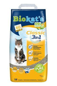 Podestýlka Biokat's Classic 18L