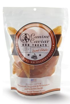 Canine Caviar Dried Sweet Potatoes 340g