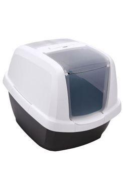 WC kočka s filtrem a lopatkou antracit 62x49,5x47,5cm