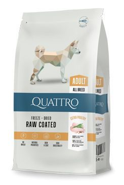 QUATTRO Dog Dry Premium All Breed Adult Drůbež 12kg
