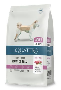 QUATTRO Dog Dry Premium All Breed Adult lamb&rice 12kg