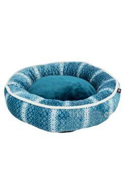 Pelech LUMI vánoční bílo-modrý kulatý 50cm TR 1ks