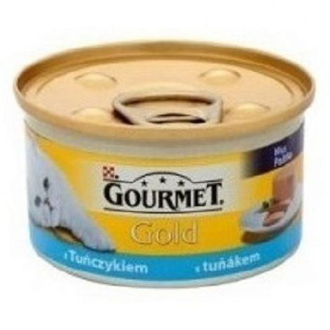 Gourmet  85g gold paštika tuňák cat/24ks 94