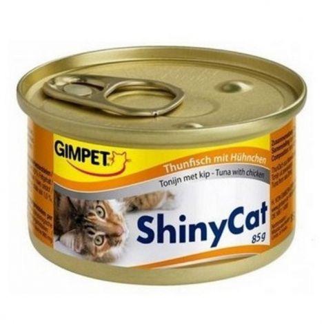 Expirace Shiny cat 70g tuňák+kuře
