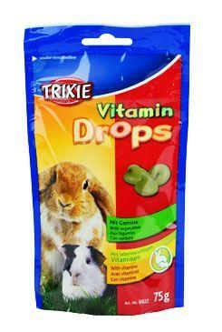 Trixie Drops se Zeleninou a vitamin Hlodavec 75g TR