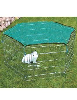 Ohrádka kovová pro králíky 6 stran/60x63cm TR 1ks