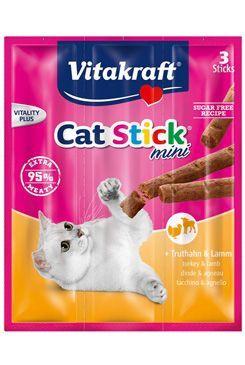 Vitakraft Cat pochoutka Stick mini Turkey+lamb 3x6g