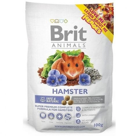 Exiprace Brit animals 100g křeček complet