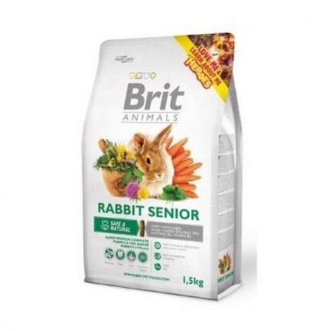 Brit animals 1,5kg králík senior complete