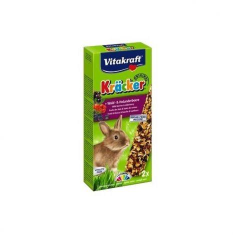 Kräcker tyč. králík lesní ovoce+bezinky 2ks/10ks/bal.