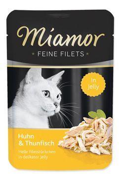 Miamor Cat Filet kapsa kuře+tuňák v želé 100g