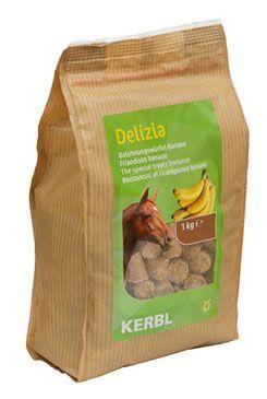Pochoutka pro koně DELIZIA banán 1kg