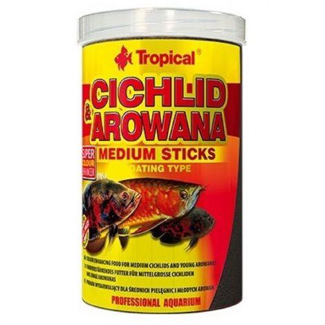 Tropical Cichlid+Arowana 1000ml medium stick