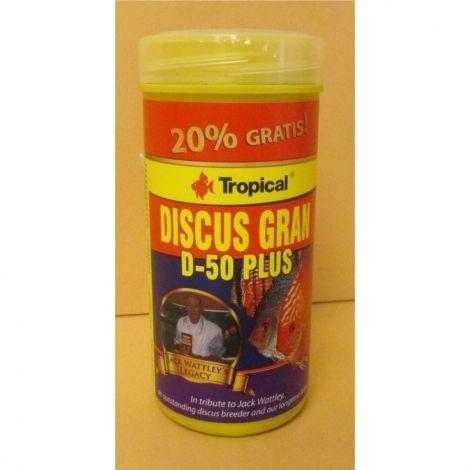 Tropical Discus Gran D-50 Plus 250ml+20% zdarma